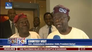 Download Tinubu Asks Obasanjo To Join Retirees Club Video