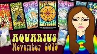 Download Tarot psychic reading AQUARIUS NOVEMBER 2019 Better days! Tarot psychic reading forecast Video