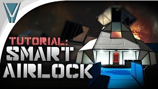 Download How to Build a Smart Airlock Tutorial [Space Engineers] Video
