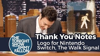 Download Thank You Notes: Logo for Nintendo Switch, The Walk Signal Guy Video