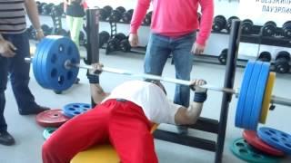 Download Роман Еремашвили, жим лёжа - raw -170 кг на 11 раз в Pride House! Video