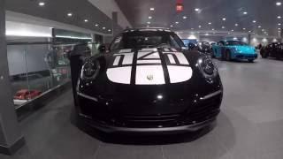 Download 2017 Black Porsche 911 Carrera S Endurance Racing Edition 420 hp @ Porsche West Broward Video