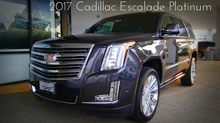 Download 2017 Cadillac Escalade Platinum 6.2 L V8 Walkaround Video