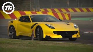 Download INSANE! Chris Harris Drives The Ferrari F12 TDF | Top Gear Video