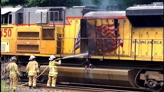 Download US Military Train on Fire Video