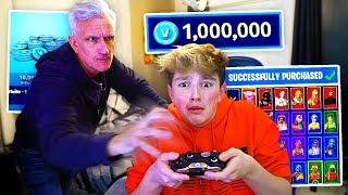 Download Kid Spends $1000 on FORTNITE with Dad's Credit Card... [MUST WATCH] Video