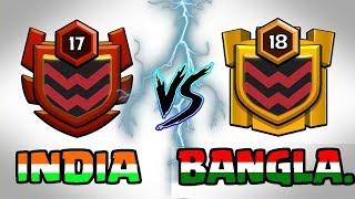 Download 🔥 LIVE | INDIA VS BANGLADESH 🔥 CLAN WAR BATTLE || Clash Of Clans LIVE Video