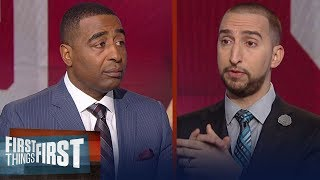 Download Should NFL teams be concerned with Baker Mayfield's antics vs. Kansas? | FIRST THINGS FIRST Video