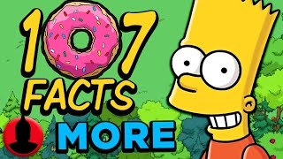 Download 107 MORE Facts About The Simpsons! (ToonedUp #64) @ChannelFred Video