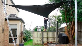 Download How to install a Coolaroo Shade Sail Video