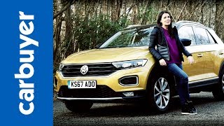 Download New Volkswagen T-Roc review 2018 - how does stylish Golf-based SUV stack up? - Carbuyer Video