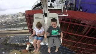 Download KIDS on VooDoo ZipLine at RIO - Las Vegas Video