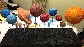 Download Brian & Aunt Julie Build Our Solar System Video