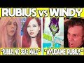 5 VECES QUE WINDY SE HUMILLO POR RUBIUS | WINDY LE DONA A RUBIUS, RUBIUS NO SEAS MALO Y MAS!