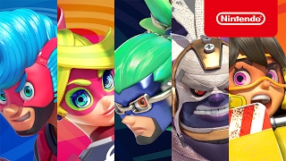 Download 『ARMS』キャラクター紹介 (闘会議2017版) Video