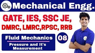 Download 12:00 PM | Mechanical by Neeraj Sir | Day #08 | Pressure and It's Measurement | Part-II Video
