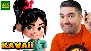 Download COMO DIBUJAR A VANELLOPE KAWAII - COMO DIBUJAR A LOS PERSONAJES DE WIFI RALPH Video