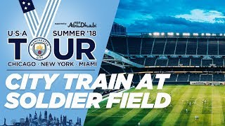 Download SOLDIER FIELD   Man City in Chicago   US TOUR 2018 Video