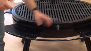 Download New Circle J Fire pit with CNC top Video
