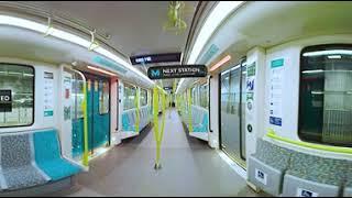 Download Sydney Metro: 360 camera walk through new metro train Video