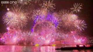 Download London Fireworks on New Year's Day 2011 - New Year Live - BBC One Video