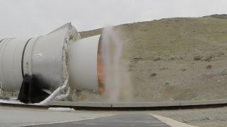 Download GoPro captures QM1 rocket smoke ring before melting Video