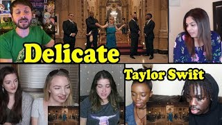 Download Taylor Swift - Delicate REACTION MASHUP Video