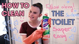 Download How to Clean the Toilet - Super Cleaning Girl! Video