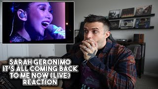 Download Sarah Geronimo - It's All Coming Back To Me Now REACTION - Celine Dion Cover LIVE Video