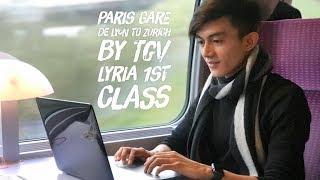 Download Paris Gare de Lyon to Zurich Switzerlands by TGV Lyria 1st Class with GoEuro Mobile Apps Video