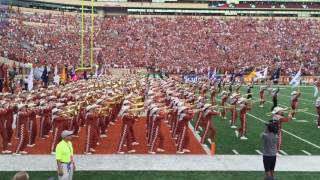 Download Texas Longhorn Band pre-game entrance into DKR Sep 4, 2016 Notre Dame @ Texas Video