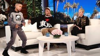 Download Pharrell Meets Ellen's Favorite Kid Trainer Demarjay Video