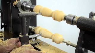 Download MegaTurn Woodturning Lathe: Copying from a Sample Video