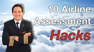 Download 10 Airline ASSESSMENT HACKS given by CAPTAIN JOE Video