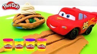 Download Kids Toys PLAY DOH. Disney Pixar Cars Lightning Mcqueen Пластилин ПЛЕЙ ДО Машинки Video