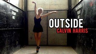 Download Calvin Harris - Outside ft. Ellie Goulding (DSharp Violin Cover) Video