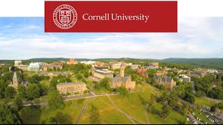 Download Beautiful Drone Shot of Cornell University - Ultra High Definition 4K Video