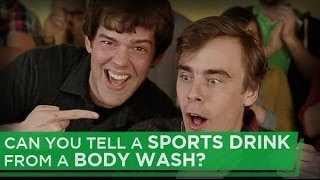 Download Can You Tell a Sports Drink From A Body Wash? Video