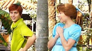 Download Peter Pan and Wendy Darling Tell Us a Joke at Disney World Video