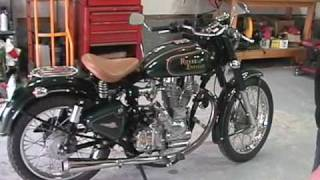 Download Starting a Royal Enfield Hitchcocks 612 cc single Video