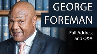 Download George Foreman | Full Address and Q&A | Oxford Union Video