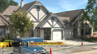 Download Calif. homes sinking into ground Video