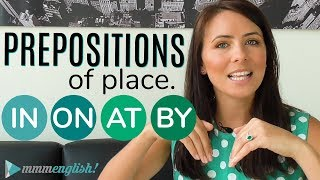 Download Prepositions of PLACE 👉 IN / ON / AT / BY 👈 Common English Grammar Mistakes Video