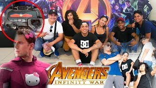 Download ¡AVENGERS INFINITY WAR REACCION!, ¡MÁS LA ESCENA QUE NO TODOS PUDIERON VER! | VLOG | DEBARRIO Video