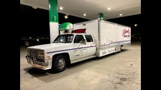 Download Finnegan's Garage Ep.59: I Bought The World's Longest Squarebody Ramp Truck and it Tried to Kill Me! Video