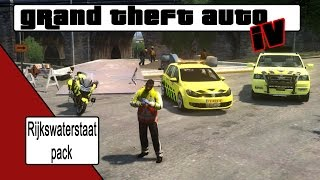 Download GTA 4 Rijkswaterstaat pack [NL] Video
