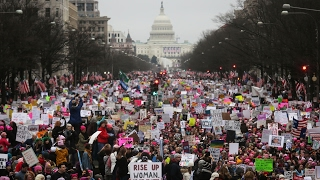 Download Women March For Range Of Issues In Washington Video