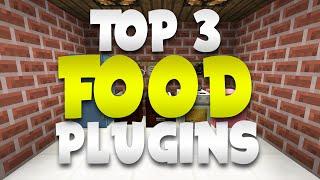 Download Minecraft Saturday | Top 3 ″FOOD″ Plugins! Video