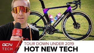 Download Hottest New 2019 Road Cycling Tech At The Tour Down Under Video
