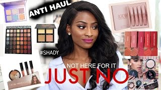 Download ANTI HAUL- MAKEUP I REFUSE TO BUY!- HUDA BEAUTY, KYLIE COSMETICS, ABH and more`1 Video